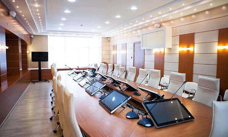 conference table power hub